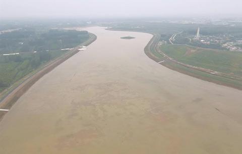 引江濟淮亳州供水工程試機成功