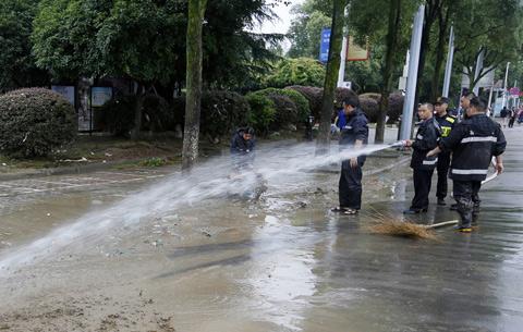 現場直擊:歙縣洪水退去 生産生活有序恢復