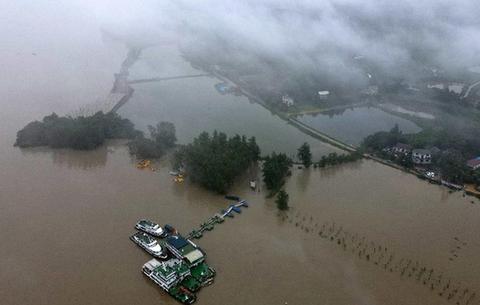 長江流域內多條河流、湖泊水位超高 防汛抗洪形勢嚴峻