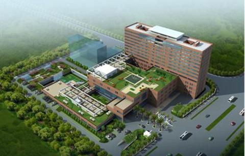 國家兒童區域醫療中心在合肥正式開建