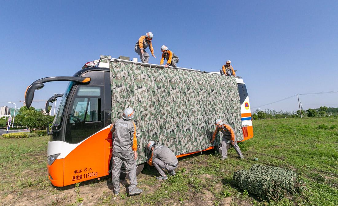 5月18日,安徽省人防辦開展全省人防備戰訓練演練攻堅行動暨指揮業務集訓。