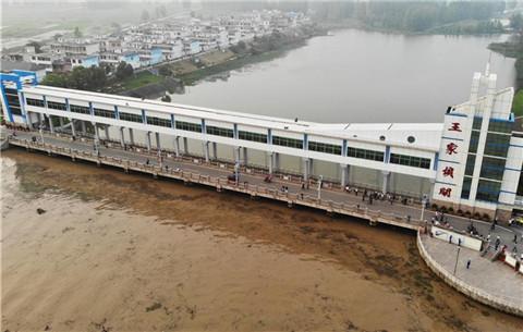淮河王家壩站水位持續上漲
