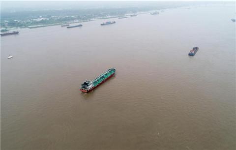 長江蕪湖段持續高水位