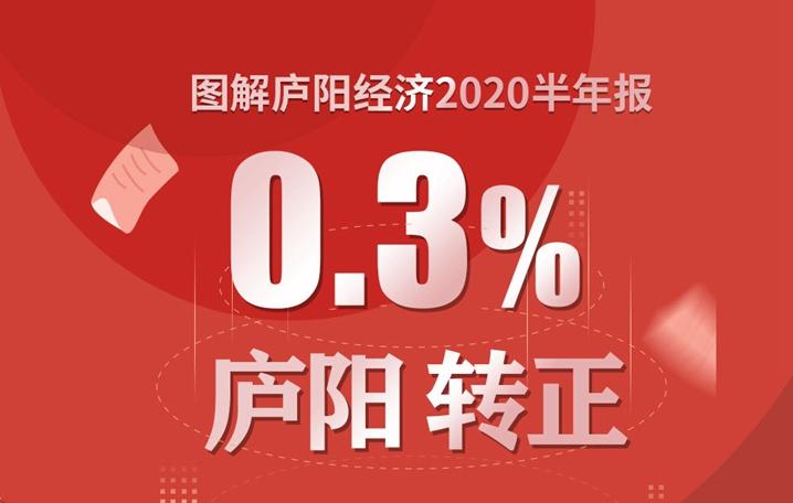 """0.3%!合肥廬陽區上半年經濟實現""""負轉正"""""""