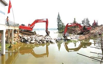 安徽省啟動水毀水利工程修復和堵口復堤