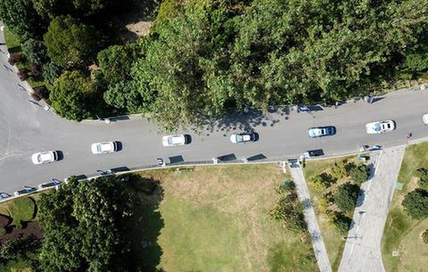 安徽首條自動駕駛汽車5G示范線開通