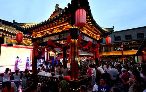 安徽亳州:北關歷史街區彰顯古城魅力