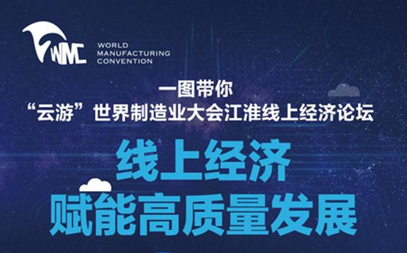 """一圖""""雲遊""""世界制造業大會江淮線上經濟論壇"""
