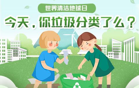 世界清潔地球日|今天,你垃圾分類了麼?