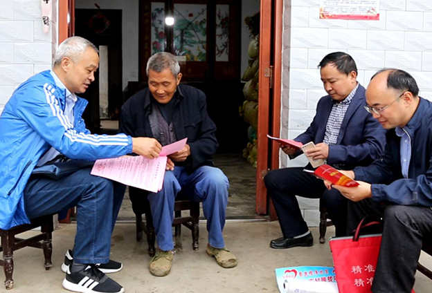 把太安村建成一個綠色生態、鄉風文明、富美安康的新太安。