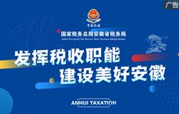 發揮稅收職能 建設美好安徽