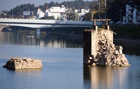 黃山啟動明代鎮海橋修繕工程