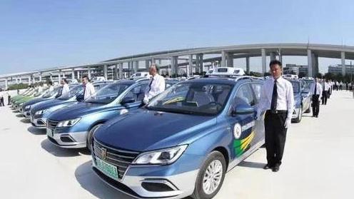 """出租汽車""""油改電""""計劃加快實施 安徽有了首家純電動車出租車企業"""