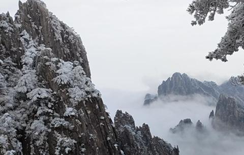 黃山:夢幻冬景醉遊人