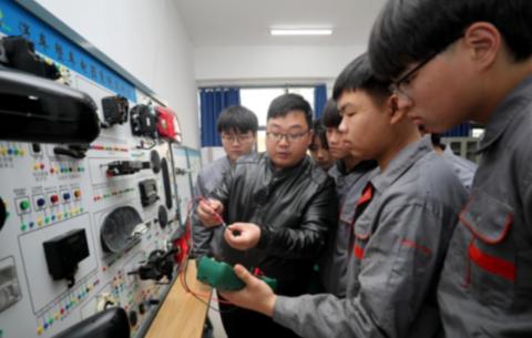 安徽滁州:工學結合 産教相融