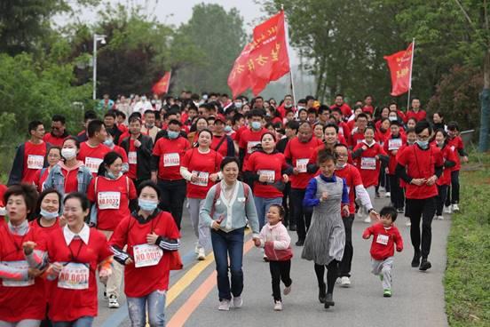 安徽省城市接力跑係列賽首場蜀山站鳴槍開跑