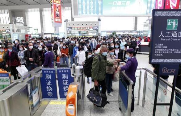 5月5日長三角鐵路現假日返程客流高峰