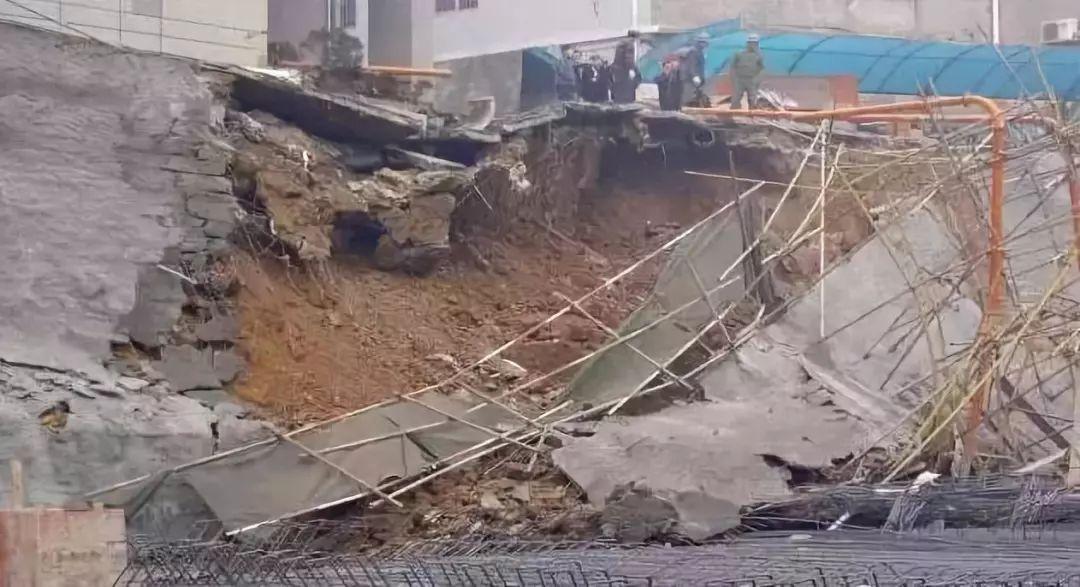 六安霍邱縣一工地塌方致3人死亡
