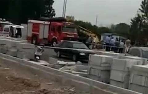 安徽淮北一工地水管爆裂致4名施工人員溺亡