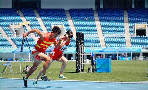 安徽兩名選手在全國殘運會上雙雙奪冠