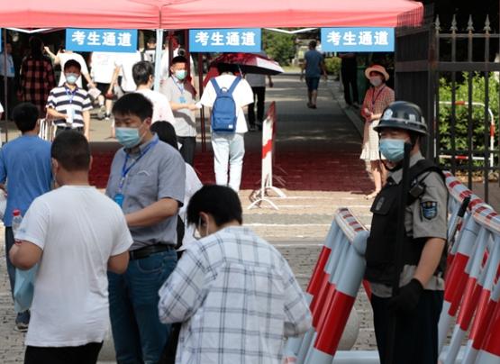安徽省營造安全有序高考環境