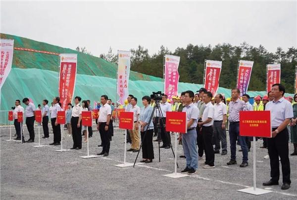 安徽省勞動和技能競賽暨全省高速公路重點建設項目勞動競賽啟動