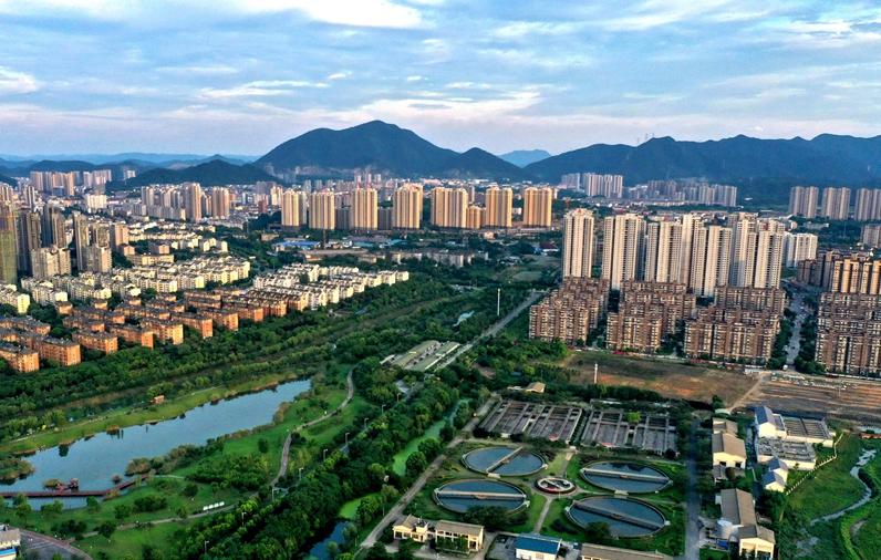 """【""""飛閱""""中國】 安徽銅陵:生態優先 城即園林"""