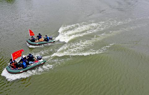 安徽亳州:防汛演練保安全