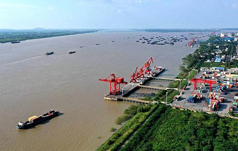 安徽銅陵:優化長江港口布局